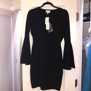 Milly swing sleeve dress
